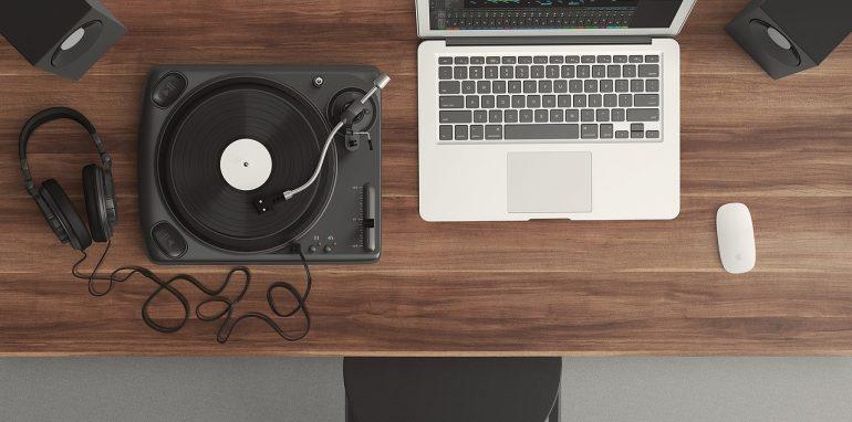 Benodigdheden voor een geluidsstudio