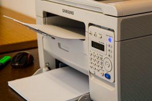Printer aansluiten
